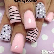 zebra pattern nail art nails nailart fashion i d do zebra print with black diamonds