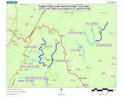 Boundary Waters Map Virginia Deq Exceptional State Waters Tier Iii
