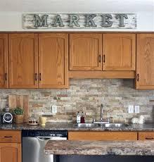 kitchen ideas with oak cabinets home desain kitchen backsplash ideas with oak cabinets