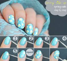 easy spring nails sunny side up mani seasonails