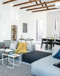 Ikea Living Room Rugs Living Room Scandinavian Flat Weave Rugs Bookshelf Wooden Dark