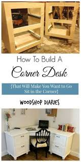 Wooden Corner Desk Plans by Diy Corner Desk From Ana White Com This Site Has A Million Plans