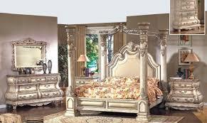 mcferran b9087 monaco luxury white finish california king size