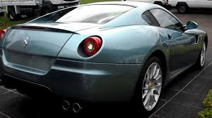 Ferrari California Light Blue - azzurro blue ferrari 599 gtb fioriano startup and loud revving