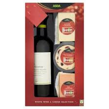 wine and cheese gifts asda chosen by you white wine cheese gift set asda christmas