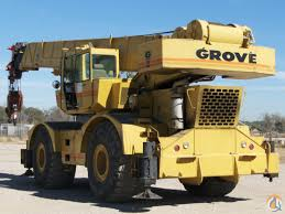 grove rt 760 60 ton rough terrain crane crane for sale on