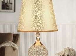 table for bedroom fringe lamp shades collection also crystal lamps