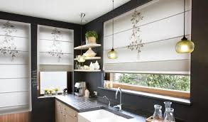 Kitchen Curtains Contemporary Kitchen Curtains Roll Up Looks Spectacular