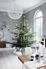 White Christmas Tree With Black Decorations 30 Modern Christmas Decor Ideas For Delightful Winter Holidays