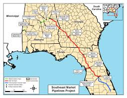 Citrus County Florida Map by Map Of All Three Pipelines In Notice Of Intent By Ferc For