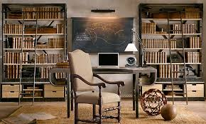 Bookcase Ladder Hardware A Great Layout Concept For A Home Library Dual Bookcase Shelving