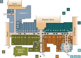 towne east mall map map for towne mall map wi 53719