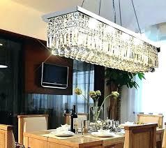 Rectangular Dining Room Lighting Rectangular Dining Room Chandelier Pinkfolio