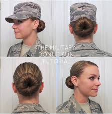 hairstyles with a hair donut bye bye beehive a hairstyle blog military bun tutorial