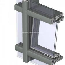 Unitized Curtain Wall China Supply Top Quality Best Price Unitized System Glass Curtain