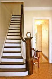 Best Paint For Stair Banisters Best 25 Painted Stair Risers Ideas On Pinterest Painted Steps