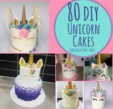 cake diy 80 diy unicorn cake ideas party ideas