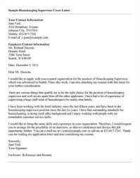 housekeeper cover letter large housekeeper cover letter