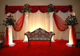 wedding backdrop rentals wedding flowers from convention floral your local washington dc
