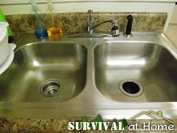 Kitchen Sink Trash Disposal by How To Clean Your Garbage Disposal Survival At Home