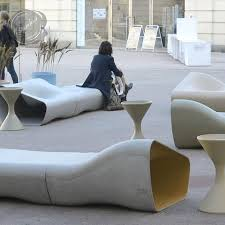 Commercial Outdoor Benches Dune Modern Outdoor Furniture Stardust