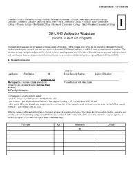 federal verification worksheet free worksheets library download