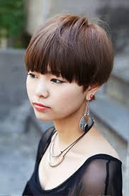 japanese medium length hairstyles pictures of cute short japanese girls hairstyle with blunt bangs