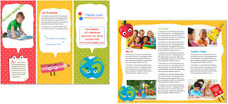 child care brochure exles fieldstation co