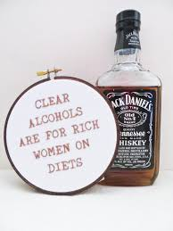 jack daniels home decor ron swanson quote hand embroidery hoop art parks and rec tv
