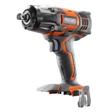 ridgid x4 18 volt 1 2 in impact wrench tool only r86010b the