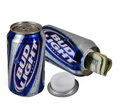 Case Of Bud Light Variety Of Authentic Brand Diversion Safes Stash Cans Stash Jars