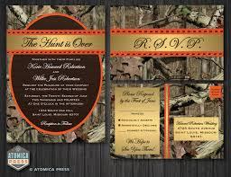 camo wedding invitations cloveranddot com