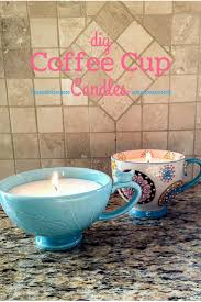 diy coffee cup candles coffee cup homemade and cups