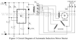 ac motor starter wiring diagram 1 phase motor starter wiring