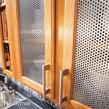 Molding Kitchen Cabinet Doors Metal Kitchen Cabinet Door Inserts Low Cost Diy Ways To Give Your