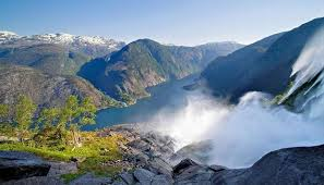 Most Beautiful Waterfalls by Langfoss Waterfall Fjord Cruise One Of The World U0027s Most