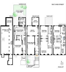 brownstone floor plans stylish and peaceful 12 brownstone home plans 1899 home array