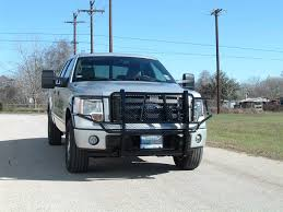 Ford F150 Truck Bumpers - ranch hand legend grille guard 2009 2013 ford f150 ggf09hbl1
