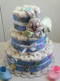 looney tunes baby shower 3 tier cake bugs bunny blanket looney tunes baby shower
