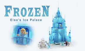 lego ideas disney princess frozen elsa u0027s ice palace