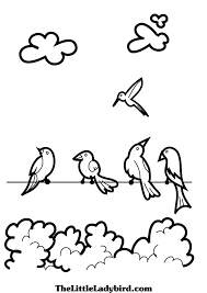 clouds coloring pages thelittleladybird com