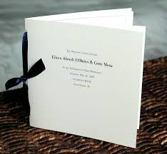 wedding ceremony program covers modern wedding ceremony program custom square special