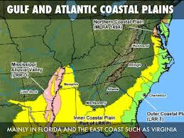 Florida Atlantic Coast Map by Regions By Zach Jorae