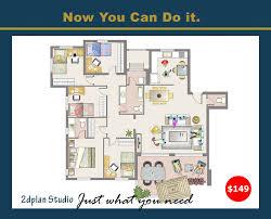floorplan layout studio6 2d floor plan layout design