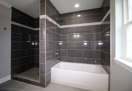 Tile A Bathtub Surround Gray Tile Shower And Tub Surround Ac Home Design