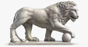 lion statue lion statue 3d models for turbosquid