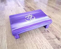How To Make A Meditation Bench Wooden Stool Etsy