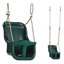 siège balançoire bébé siège balançoire pour bébé exit aksent vert brico
