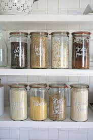beautiful kitchen canisters try this paint pen kitchen organization a beautiful mess