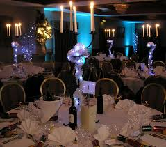 blue christmas party ideas decorating of party